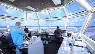 flight control deck